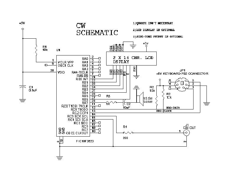 Complete Schematic CW